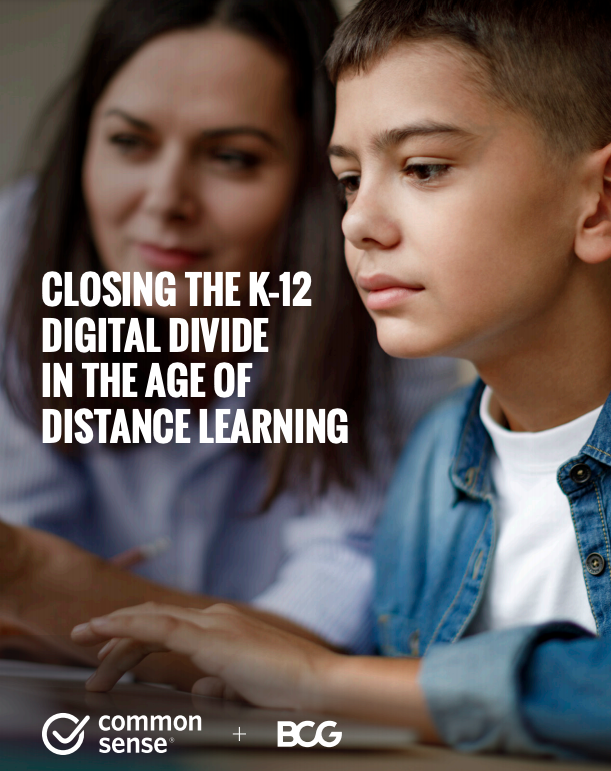 Closing the K–12 Digital Divide in the Age of Distance Learning