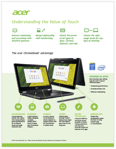 Acer Touch Devices