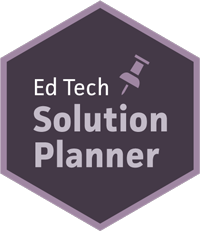 ed tech solution planner