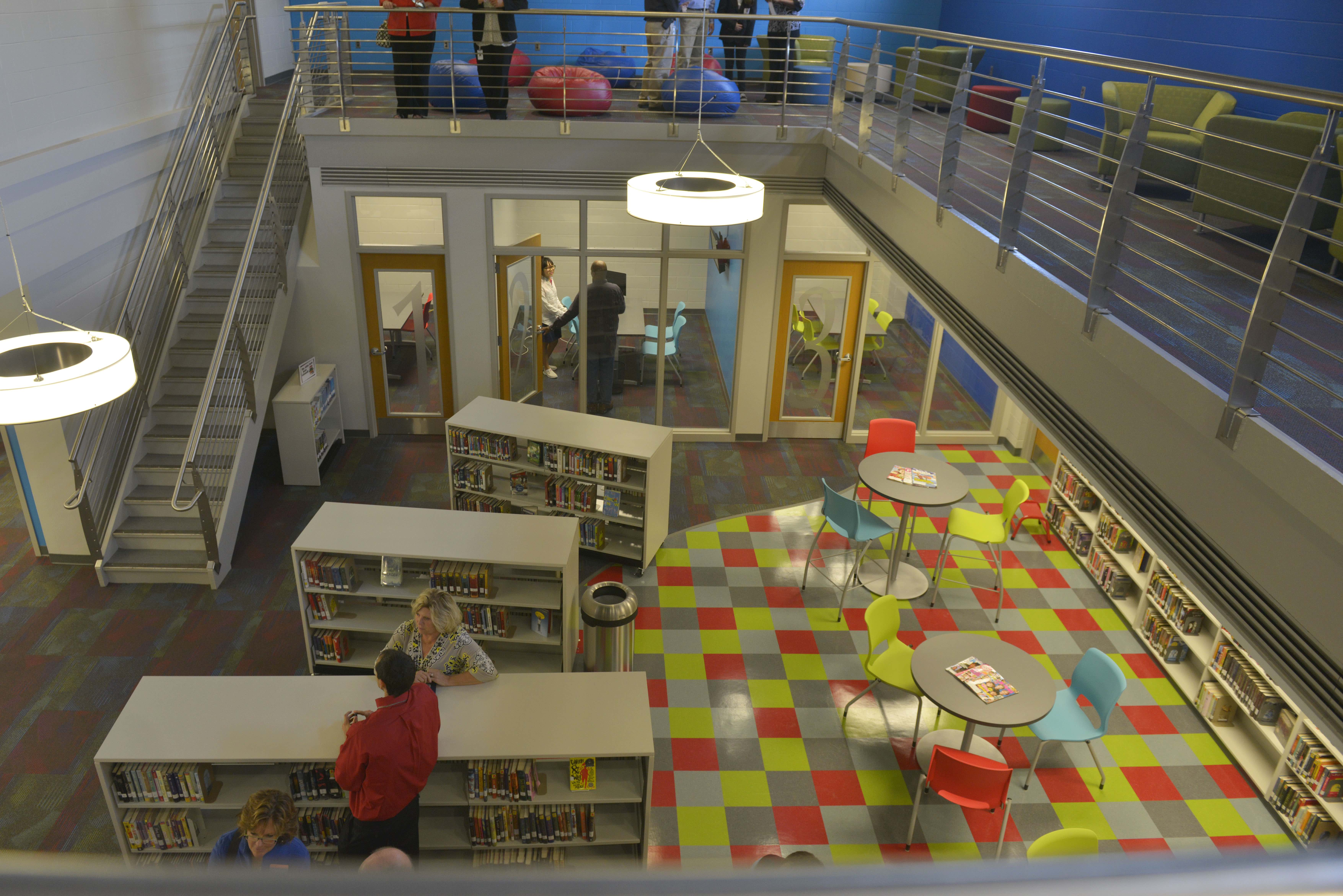 Nashville public schools redefines school libraries k 12 - Interior design school nashville ...