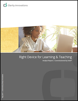 The Right Device for Learning & Teaching