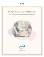 The Right Chromebook for K-12 Education