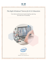 The Right Device for K-12 Education