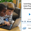 ebook cover with two boys using a Chromebook